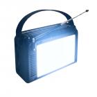 Цифровое мини радио GOLON RX-BT660T + BLUETOOTH Радиоприемник всеволновой портативный с телескопической антенной с USB mp3, WMA беспроводной FM/AM сетевой и аккумуляторный - изображение 4