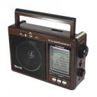 Цифровое мини радио GOLON RX-9966UAR Радиоприемник всеволновой портативный с телескопической антенной с USB mp3, WMA беспроводной FM/AM сетевой и аккумуляторный - изображение 3