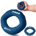 Еспандер силіконовий овальний 27,2 кг Hop-Sport HS-S027OG темно-синій - изображение 5