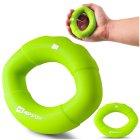Еспандер силіконовий овальний 13,6 кг Hop-Sport HS-S013OG зелений - изображение 5