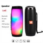 Bluetooth-колонка з LED підсвічуванням TG-157, Потужністю 10W, Акумулятор 1200mAh Чорний - зображення 3
