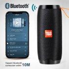 Bluetooth-колонка TG106, Потужністю 10W, Акумулятор 1200mAh Black - зображення 2