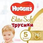 Трусики-подгузники Huggies Elite Soft Pants 5 (XL) 76 шт (5029053547114) - изображение 1
