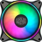 Набор вентиляторов Cooler Master MasterFan MF120 Halo 3in1 ARGB Sync+Wired ARGB Controller (MFL-B2DN-183PA-R1), 120х120х25 мм, 4pin, черный - изображение 6