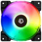 Вентилятор ID-Cooling DF-12025-ARGB (Single Pack), 120x120x25мм, 4-pin PWM, чорний - зображення 1