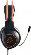 Ігрові навушники Canyon Nightfall Black/Orange (CND-SGHS7) - зображення 3