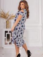 Плаття ALDEM 1750.2 50 Синє (2000000596549_ELF) - зображення 2