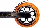 Самокат трюковий з алюмінієвими колесами 2 пеги в комплекті Maraton Champion 21004 Помаранчевий - зображення 2