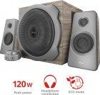 Акустична система Trust Tytan 2.1 Speaker set wood (TR23290) - зображення 5