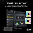 Система водяного охолодження Corsair iCUE H100i Elite Capellix R GB White (CW-9060050-WW) - зображення 4