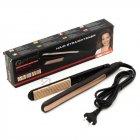 Плойка для Завивки-Гофре для прикореневого об'єму волосся Geemy by Gemei GM-2955W - професійний прилад для укладання - щипці для модною і оригінальною зачіски, Чорно-золотий - зображення 8