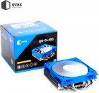 Кулер QUBE QB-OL400 Blue - зображення 4