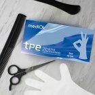 Перчатки Виниловые Неопудренные Тпэ MEDIOK Бесцветные М (200 шт) - изображение 2