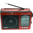 Радіоприймач RX-006UAR Golon Plus USB FM Red (45769-IM) - зображення 2