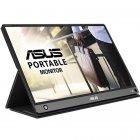 """Монітор ASUS 15.6"""" MB16AH IPS Black; 1920x1080, 250 кд/м2, 5 мс, USB Type-C, Micro HDMI, динаміки 2х1 Вт - зображення 1"""