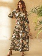 Платье Dressa 53730 46-48 Хаки (2000405737639_D) - изображение 2