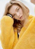 Спортивна куртка зі штучного хутра molliolli SUNNY JACKET yellow, L, MW9WJK02Xy - изображение 4