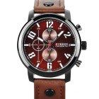 Спортивные люксовые мужские часы CURREN 8192 Brown - изображение 1