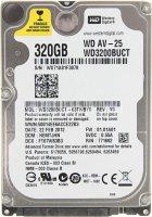 Жорсткий диск Western Digital AV-25 320GB 5400rpm 16MB WD3200BUCT 2.5 SATA II Refurbished - зображення 1