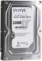"""Жесткий диск i.norys 3.5"""" 320ГБ 7200 об/м 8МБ SATAII (INO-IHDD0320S2-D1-7208) - изображение 1"""