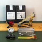 Металлическая рогатка для рыбалки DEXT Gold Pro 2.0 Базовый набор с упором для Боуфишинга Bowfishing - изображение 1