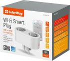 Розумна Wi-Fi-розетка ColorWay подвійна (CW-SP2B-PTM) - зображення 3