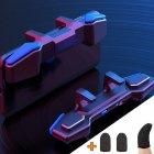 Игровые контроллеры с макросами стрельбы Marpiel AK01 (геймпад триггеры курки для смартфона для PUBG) + напальчники - изображение 1