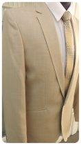 Чоловічий костюм West-Fashion 527 бежевий 50,188 - зображення 4