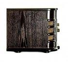 Ретро музичний центр Програвач вінілу Daklin Даллас (AM/FM-стерео, USB/CD MP3, AUX, BT) дерево Шоколадний горіх - зображення 4