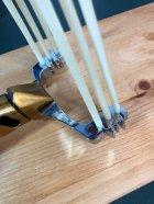 Металлическая охотничья рогатка для охоты DEXT Gold Pro 2.0 Базовый набор с локтевым упором и магнитным держателем - изображение 5