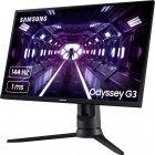"Mонитор 24"" Samsung Odyssey G3 F24G35TFW Black (LF24G35TFWIXCI) - изображение 4"