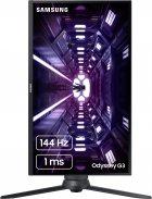 "Mонитор 24"" Samsung Odyssey G3 F24G35TFW Black (LF24G35TFWIXCI) - изображение 10"