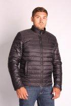 Куртка ZIBSTUDIO полоса комбинированная 6XL Чёрная (6157374) - изображение 5
