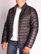 Куртка ZIBSTUDIO полоса комбинированная 6XL Чёрная (6157374) - изображение 8