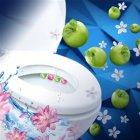 Туалетні блоки для унітаза Bref Зміна аромату Персик і яблуко Тріопак (9000101403794) - зображення 6
