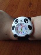 Часы детские White city наручные Панда силиконовые черные с белым - изображение 2