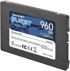 """Накопичувач SSD 960GB Patriot Burst 2.5"""" SATAIII TLC (PBU960GS25SSDR) - зображення 3"""