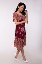 Платье Jessore C1285-8 Бордовое One size - изображение 2