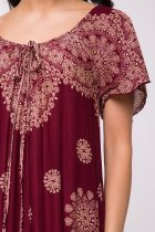 Платье Jessore C1285-8 Бордовое One size - изображение 4