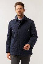 Чоловіча куртка демісезонна Finn Flare 14921003A-101 5XL Темно-синя - зображення 1