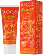Зубная паста R.O.C.S. Junior Фруктовая радуга 74 г (4607034474584) - изображение 1