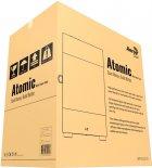 Корпус Aerocool Atomic Black Mini Tower ARGB Glass side panel (Atomic-G-BK-v1) - зображення 12