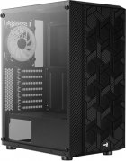 Корпус Aerocool Hive Black Mid Tower FRGB Glass side panel (Hive-G-BK-v2) - изображение 2