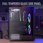 Корпус Aerocool Mecha Black Mid Tower RGB Glass side panel (Mecha-G-BK-v1) - изображение 17
