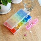 Органайзер для таблеток MVM, 7 дней PC-03 T пластиковый прозрачный - изображение 4
