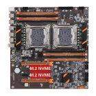 Материнська плата KLLISRE ZX-DU99D4 ( s2011-3 / C612 / PCI-e x16 ) - зображення 1