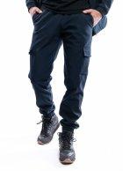 Теплые штаны Intruder SoftShell синие XL - изображение 1