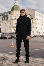 Чоловічий костюм Intruder Softshell демісезонний . Куртка, штани утеплені L чорний - зображення 12