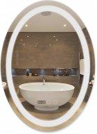 Зеркало QTAP Mideya с антизапотеванием (DC-F805) 500х700 QT2078F805W - изображение 1
