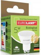 Світлодіодна лампа EUROLAMP SMD MR16 5W GU10 3000K (LED-SMD-05103(P)) - зображення 3
